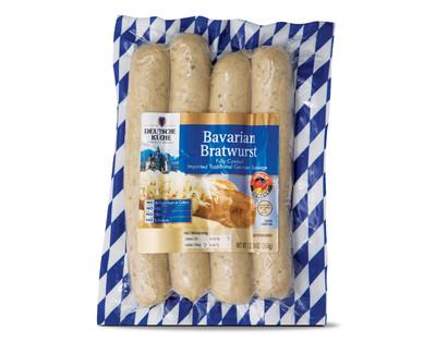 ALDI US  Deutsche Kche Bavarian or Beer Bratwurst