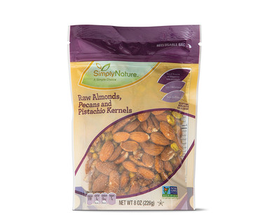 ALDI US  SimplyNature Raw Almonds Pecans and Pistachio