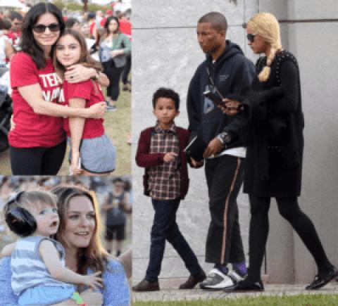 10 Nombres peculiares de los hijos de las celebridades