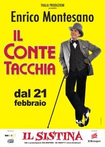 Al Teatro Sistina arriva il Conte Tacchia con Enrico Montesa