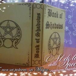 Libro delle ombre pentacolo con triplice