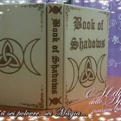 Libro delle ombre triplice luna e triquetra