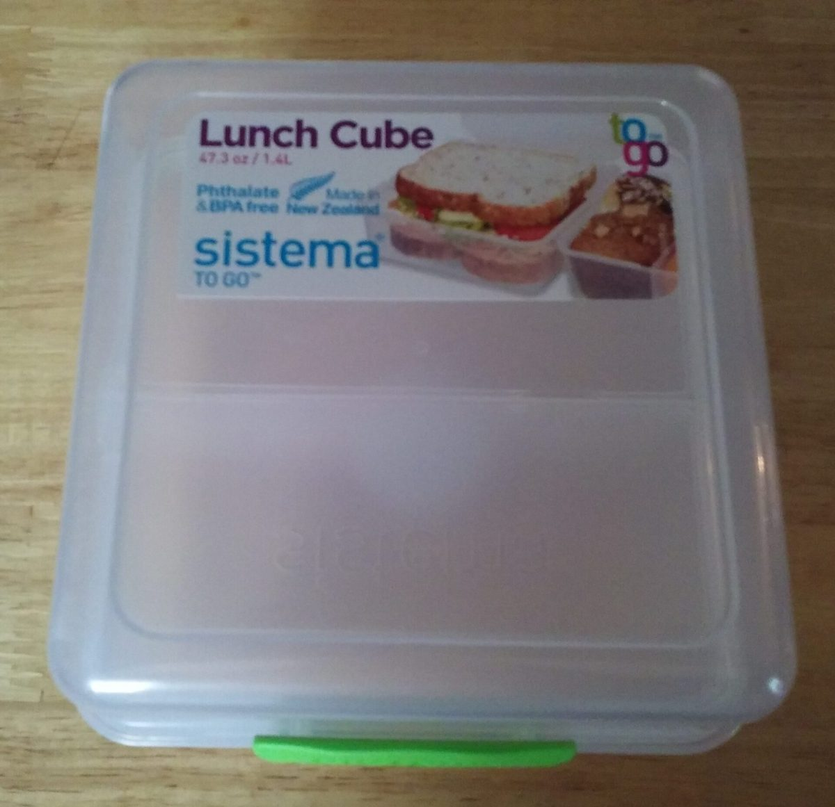 Sistema To Go Lunch Cube