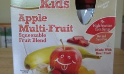 SimplyNature Kids Apple Multi-Fruit Squeezable Fruit Blend