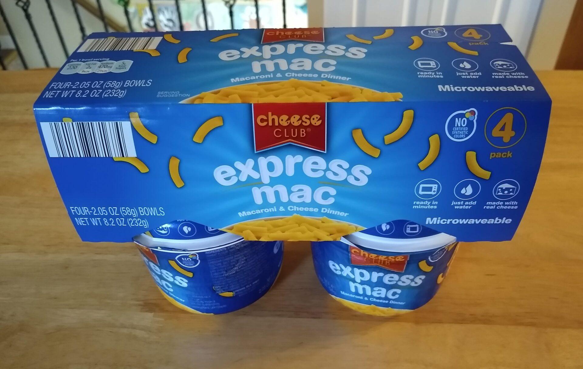 cheese club express mac macaroni and