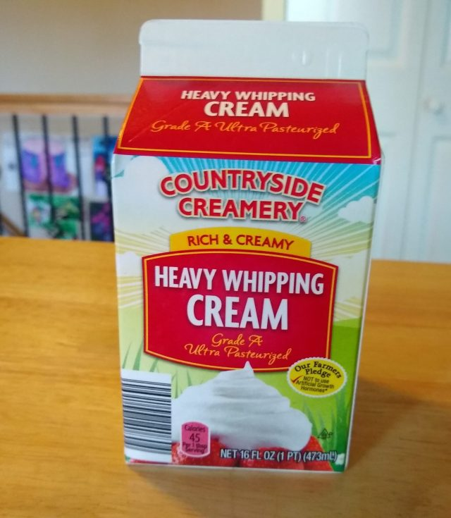 Countryside Creamery Heavy Whipping Cream - ALDI REVIEWER