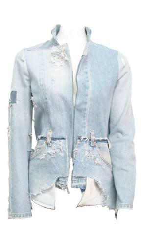 GIACCA DONNA JEANS Ricavata da jeans americani anni '80. Made from American jeans 80s.