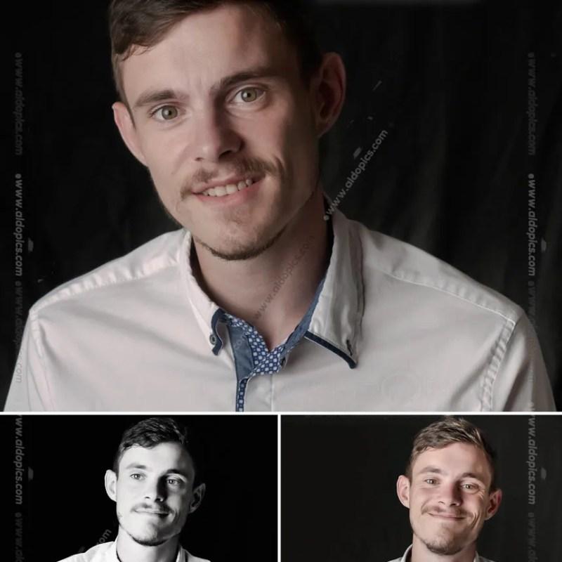 AldoPics Actor Headshot Collage