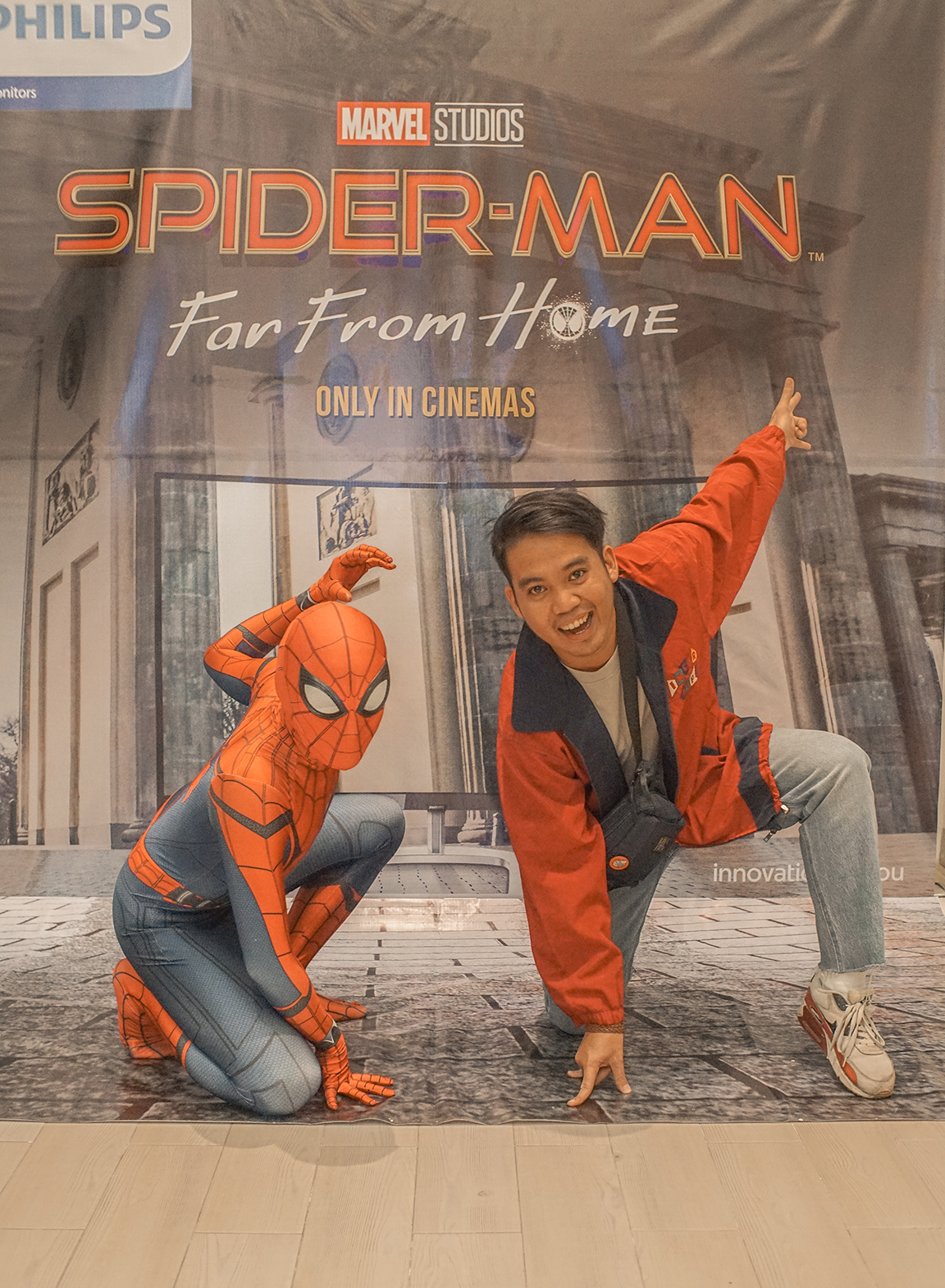 Philips Monitors team up with Sony Pictures for Spider-Man™: Far From Home