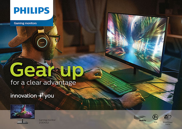 Philips Monitors' Brand-New Models Enters Gaming Market