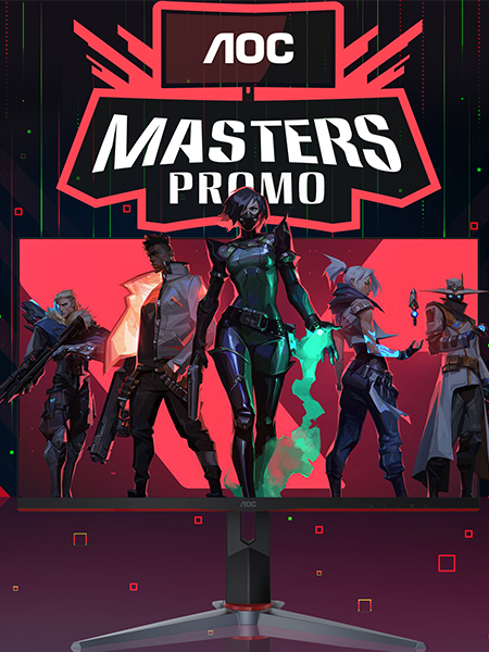 AOC Masters Promo: Bring Home the Ace with AOC G2 Gaming Monitors