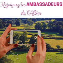 rejoignez les ambassadeurs de l'Allier