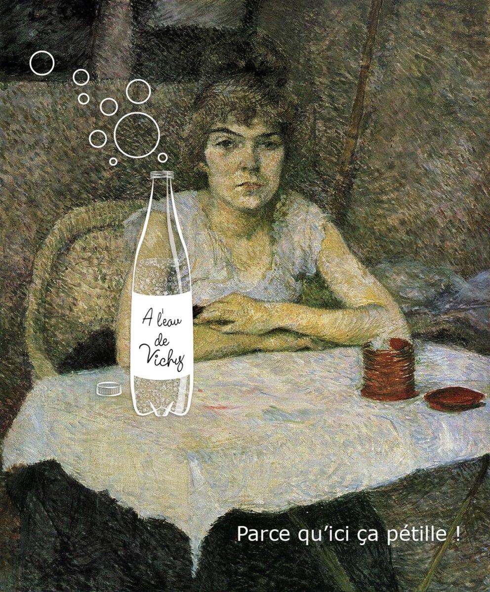 """Inspiré par """"Rice Powder"""" de Toulouse-Lautrec"""