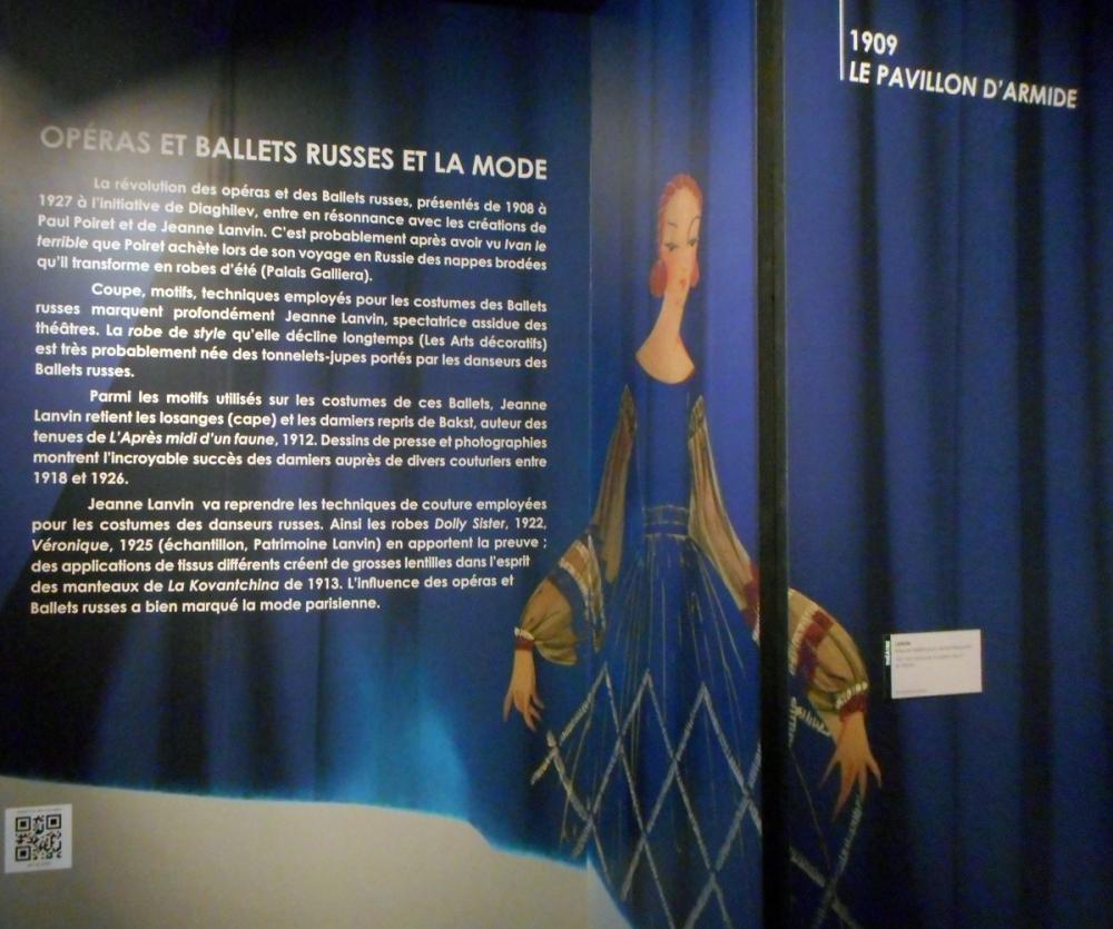 """Expo """"Modes à la ville comme à la scène"""" CNCS Moulins"""