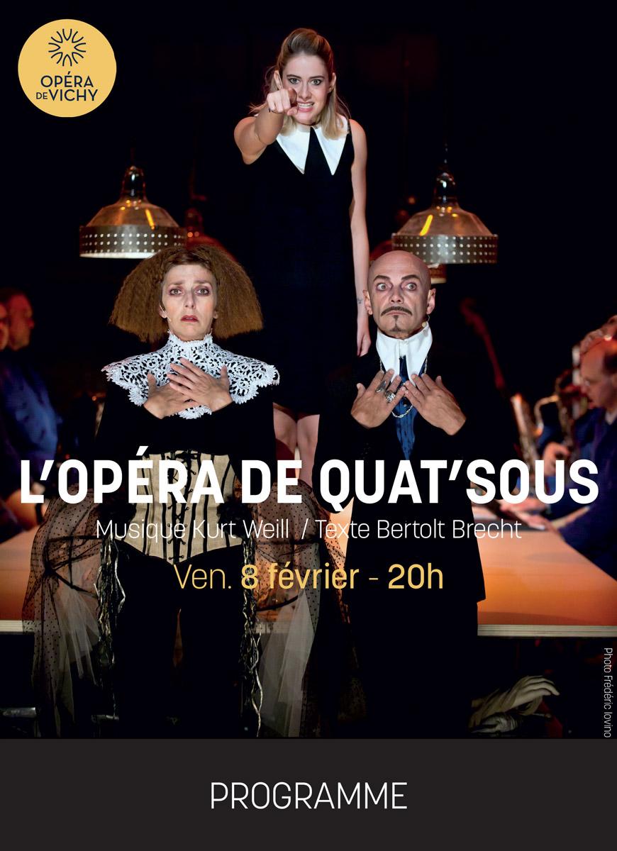 L'Opéra de Quat'sous à l'Opéra de Vichy