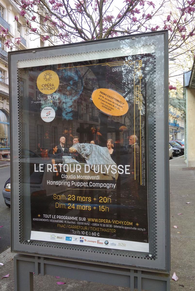 """""""Le retour d'Ulysse dans sa patrie"""" à l'Opéra de Vichy"""
