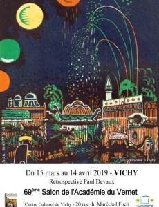 exposition Paul Devaux à Vichy