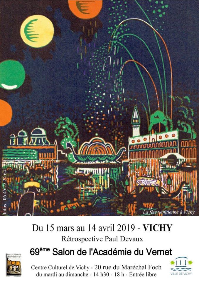 Rétrospective Paul Devaux à Vichy - 2019