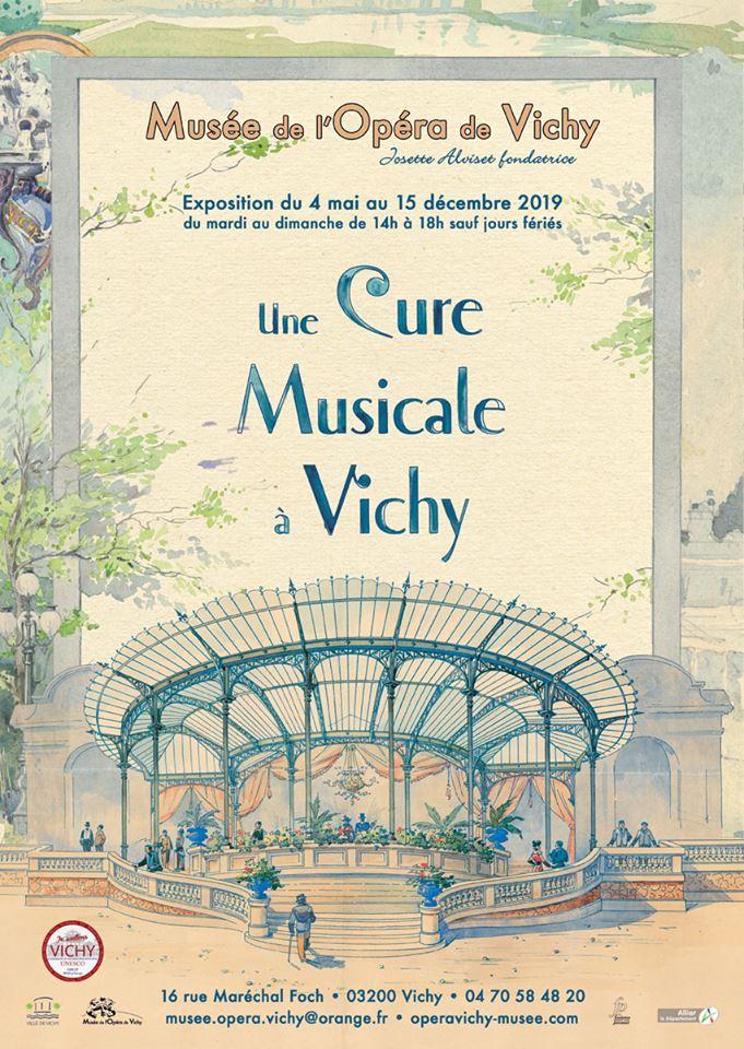 Exposition au musée de l'Opéra