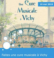 """""""Une Cure Musicale à Vichy"""", exposition au Musée de l'Opéra de Vichy - 2019"""