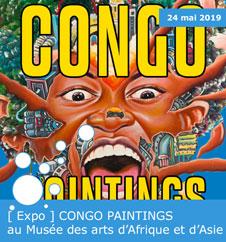 [ Expo ] CONGO PAINTINGS au Musée des arts d'Afrique et d'Asie