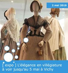 [ expo ] L'élégance en villégiature à voir jusqu'au 5 mai à Vichy