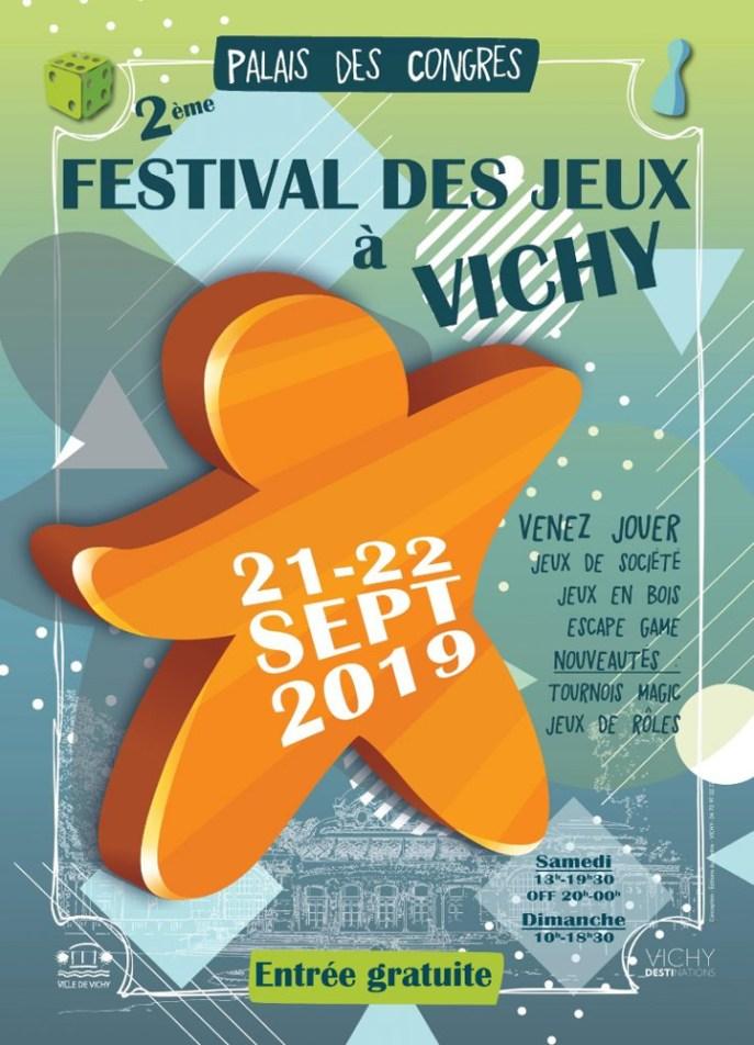 2e Festival des Jeux à Vichy 2019