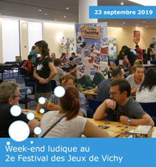 Week-end ludique au 2e Festival des Jeux de Vichy