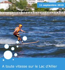 Championnat du Monde de Ski Nautique de Vitesse - Vichy 2019