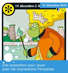 Une exposition pour jouer avec les expressions françaises