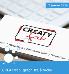 CREATYfab, graphiste à Vichy