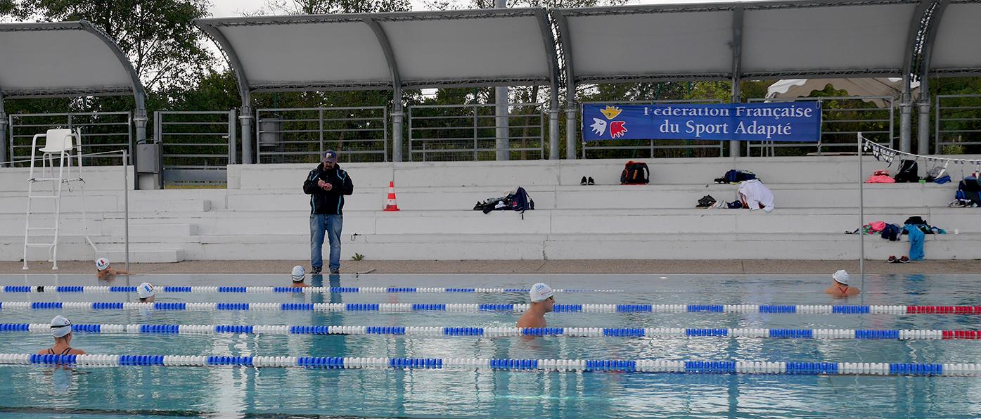 Pôle Natation Sport Adapté à Vichy