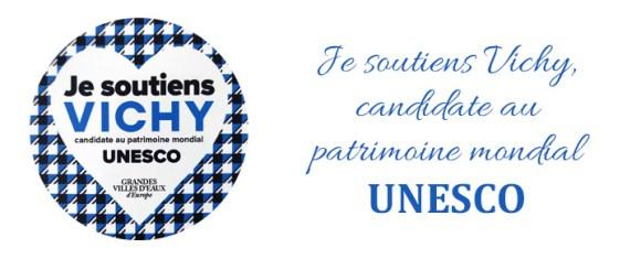Je soutiens Vichy, candidate au patrimoine mondial UNESCO