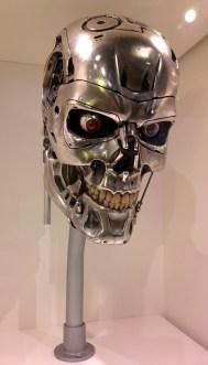 Terminator's head