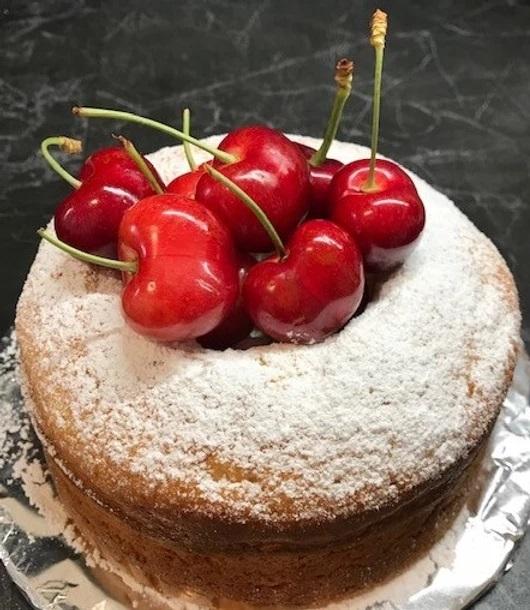 Chiffon Cake alle Ciliege