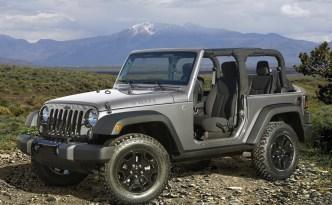 Jeep Wrangler terenowy