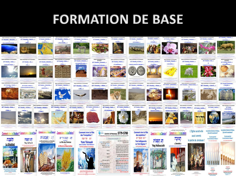 Calendrier Hebraique 5779.Formation Messianique De Base