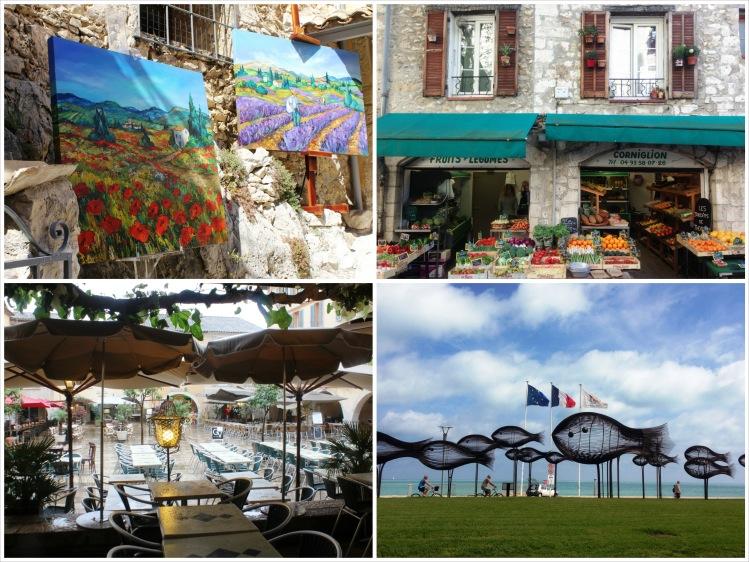 Eze, Vence, Valbonne & Cagnes Sur Mer, French Riviera (April)