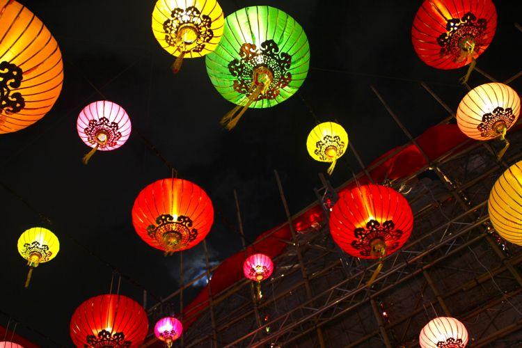 Lanterns for Mid-Autumn Festival, Macau (September)