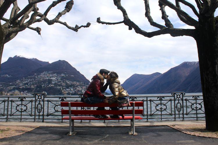 The Lake of Lugano, Switzerland (April)