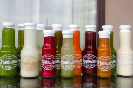 Green Juices, Pura Organics Phuket