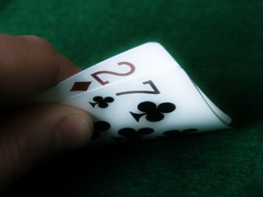 weekest starting hand in poker