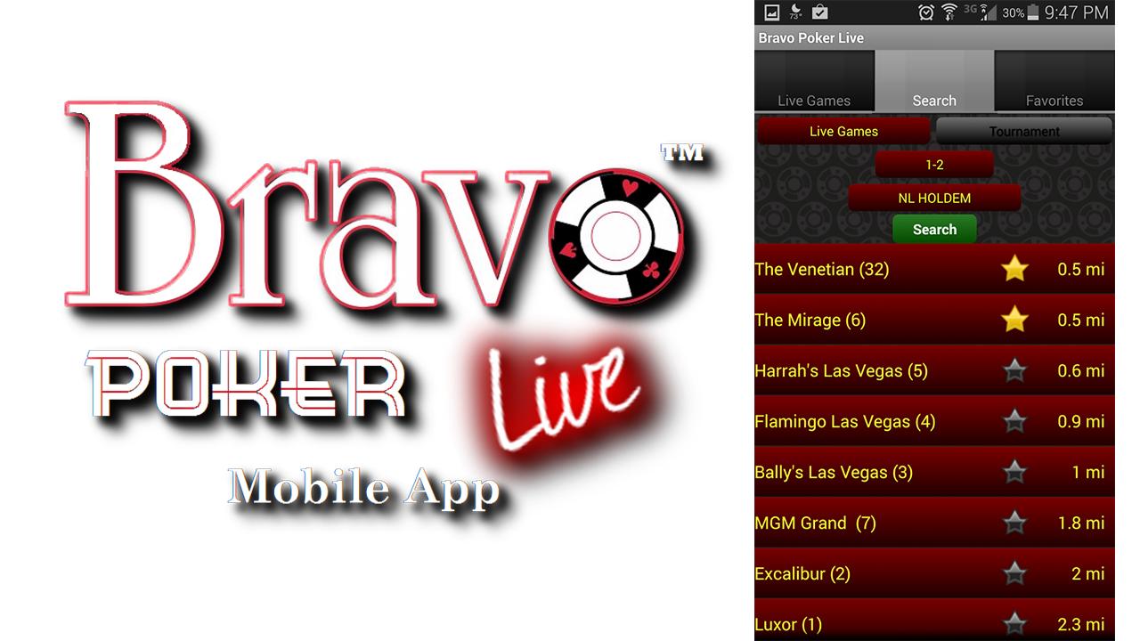 bravo poker app