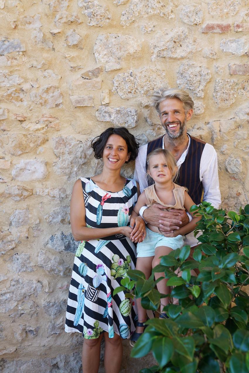 Benjamin and Francesca Agrivilla i Pini