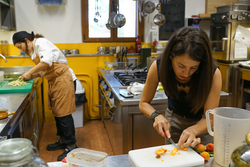 Chef Stefania Agrivilla i Pini