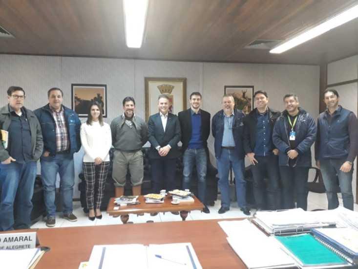 Novo Superintendente do Sebrae-RS visita o Prefeito e garante continuidade dos projetos no Município