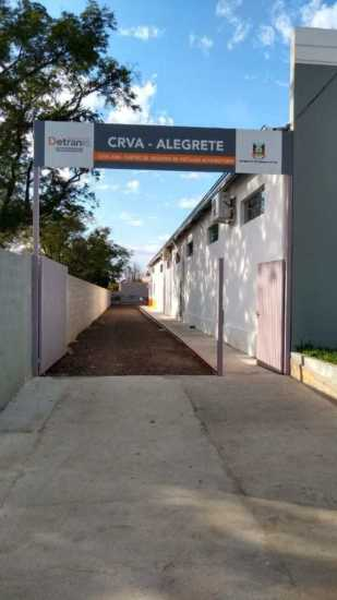 Iniciou o serviço do CRVA de Alegrete no Cartório da Cidade Alta