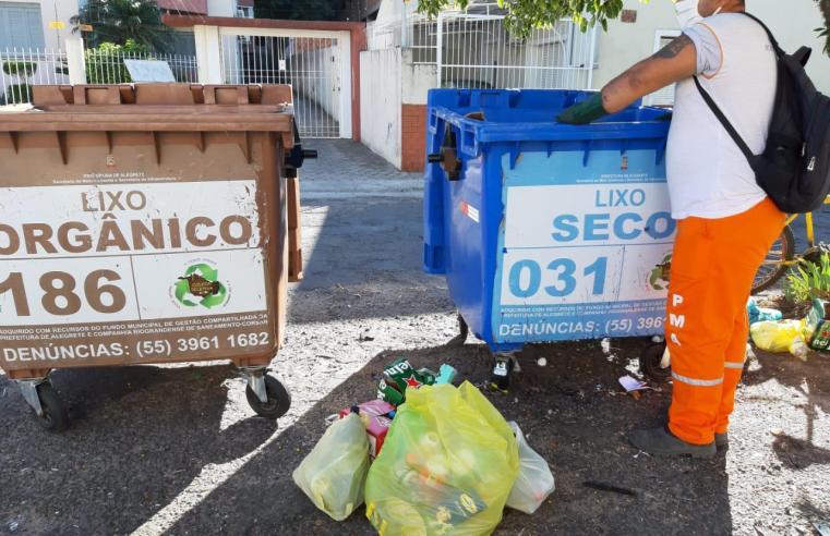 Campanha visa educar e conscientizar a população para o correto manuseio do lixo