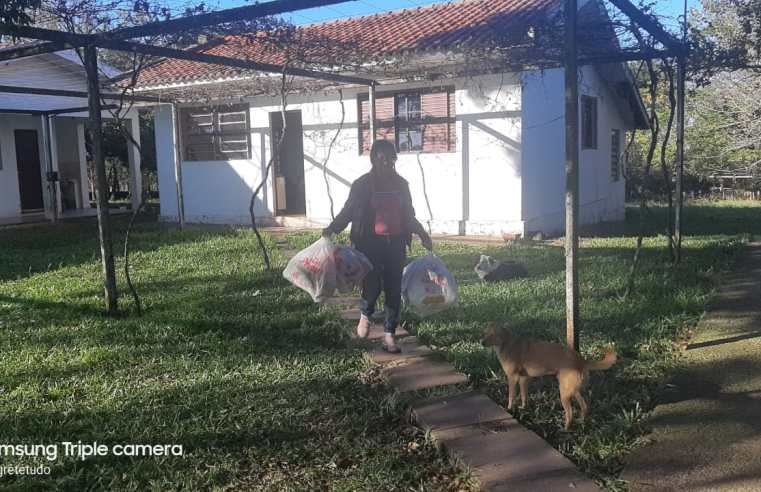 Moradora da Zona Rural de Alegrete dá exemplo ao descartar lixo de forma correta