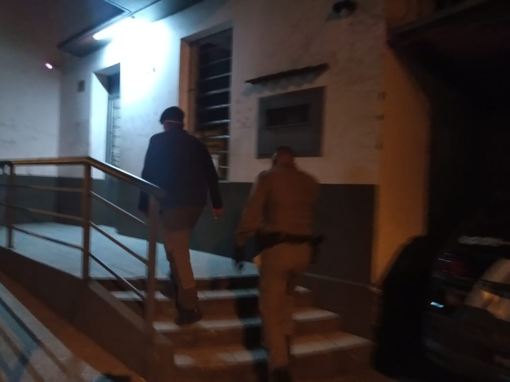 Uruguaio é preso, em Alegrete, por embriaguez ao volante